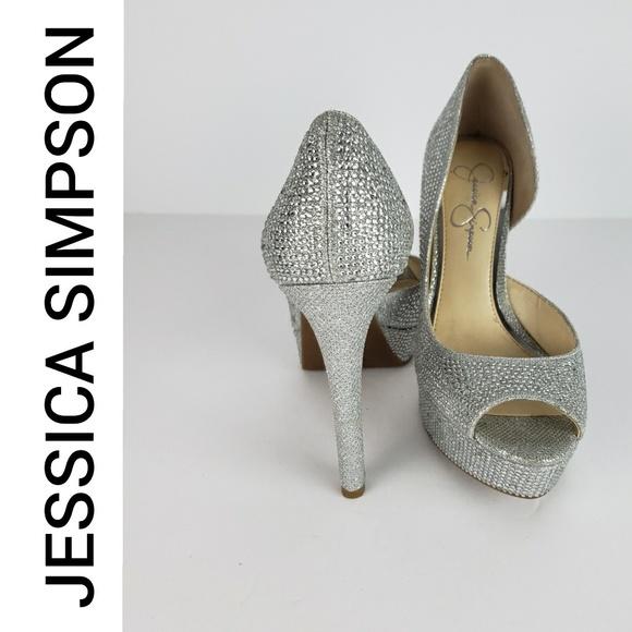 9c01e5f2732 Jessica Simpson Shoes - Jessica Simpson Martella 2 Diamond Heels